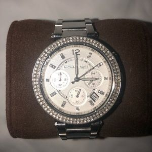 Michael Kors Sparkle Face Watch